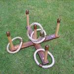 Premier Disco Quoits game hired for weddings & events