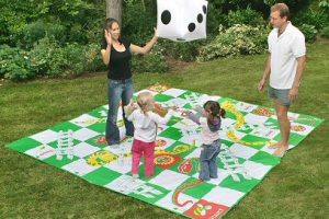 Giant snakes and ladders game to hire