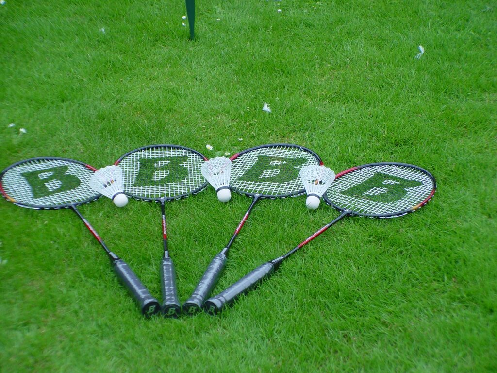 Premier Disco Giant Games Gallery Badminton game