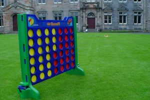 Premier Disco Giant Connect 4 Garden Game