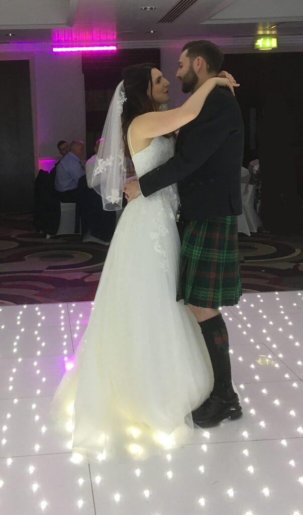 Premier Disco Bride and Groom
