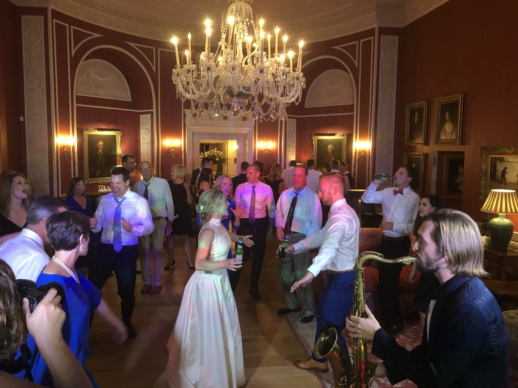 Mr & Mrs Lorenz at Archerfild with Premier Disco wedding DJ