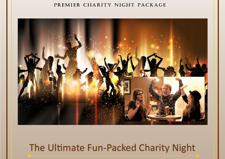 Fun Charity Night Fundraising Package